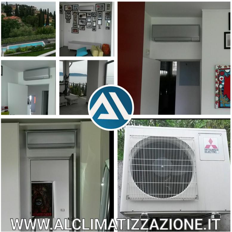 Aria condizionata climatizzatore a parete o a pavimento for Impianto climatizzazione