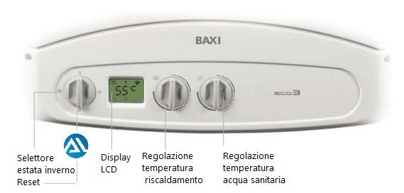 Installatore climatizzatore brescia for Baxi eco 3 manuale