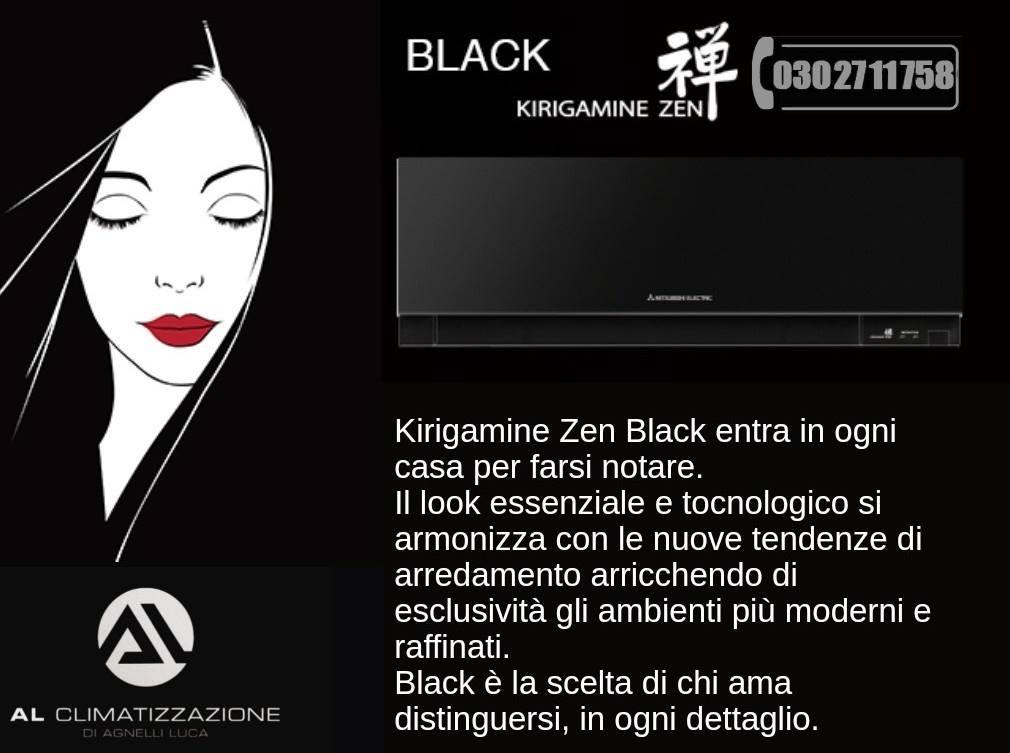 black kirigamine zen