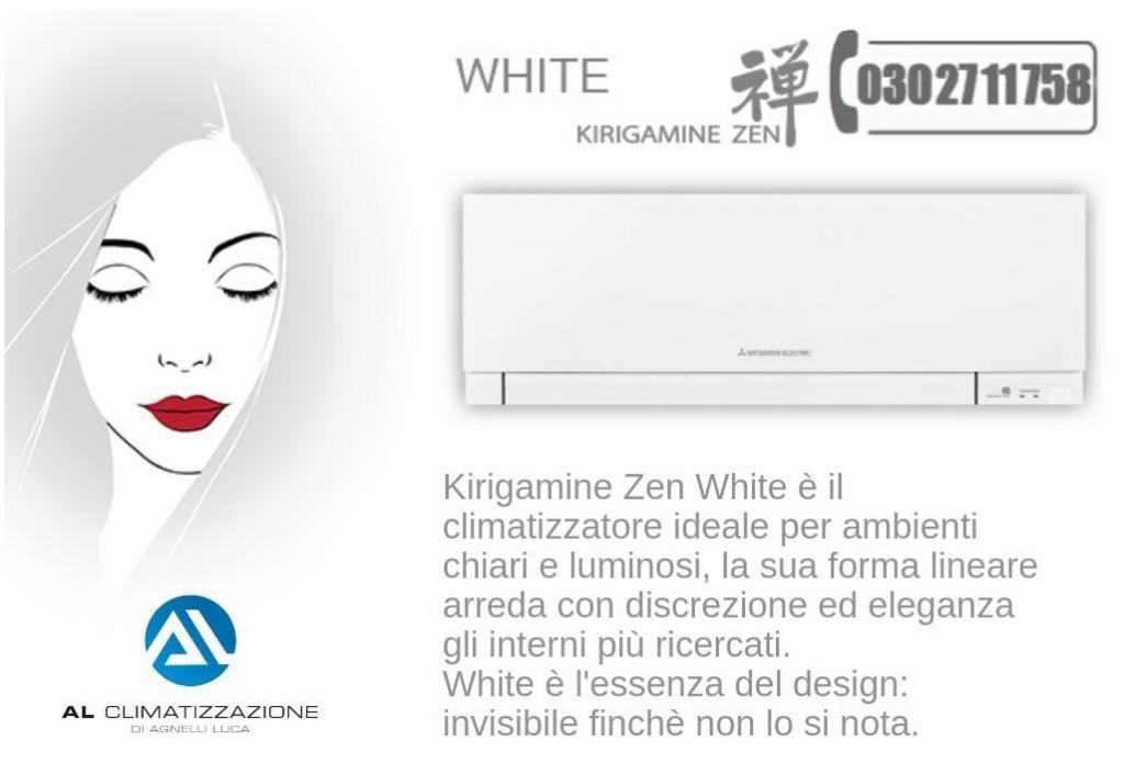 white kirigamine zen