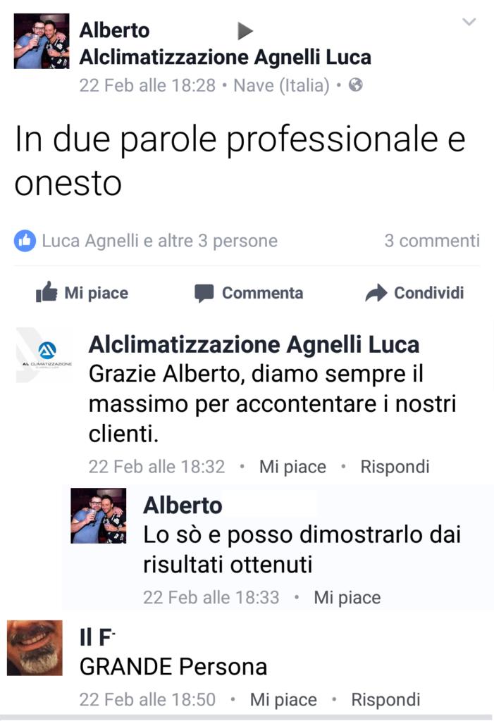 recensioni alclimatizzazione di Agnelli Luca