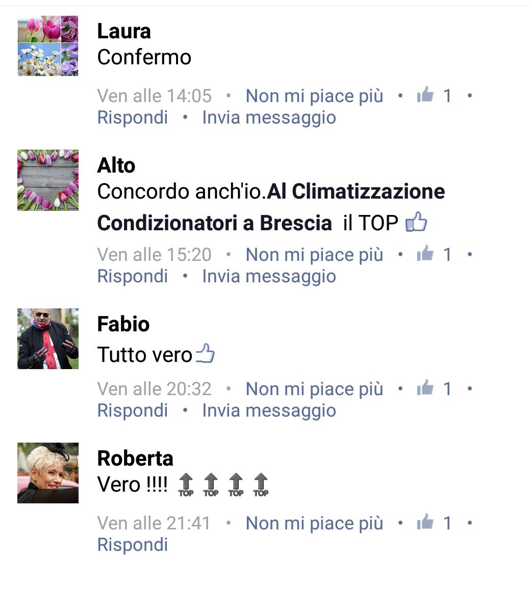 Facebook AL CLIMATIZZAZIONE