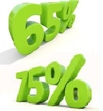 bonus 65% 75%