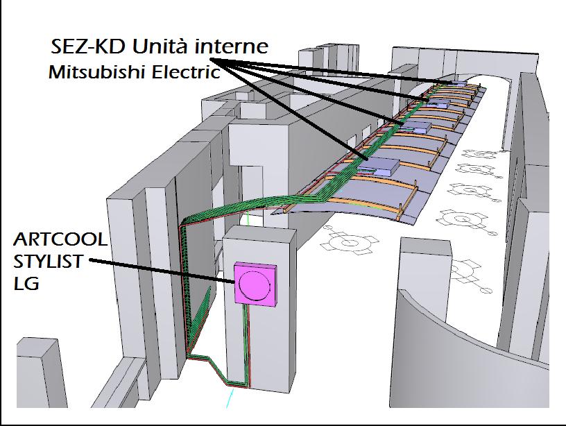 Brescia azienda specializzata nella climatizzazione for Impianto condizionamento canalizzato
