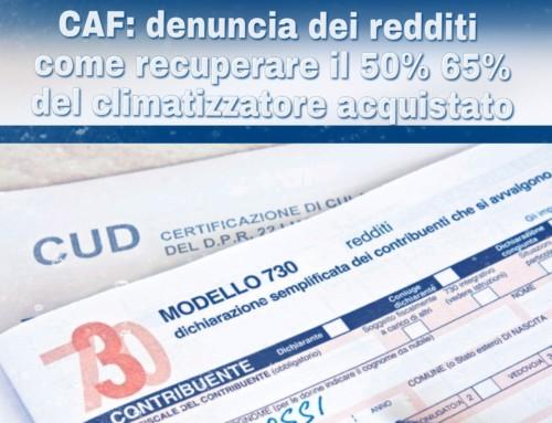 Brescia – CAF – Climatizzatore – Condizionatore – Deduzione fiscale