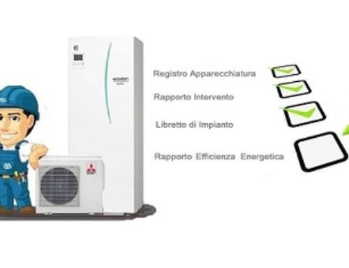 Registro Apparecchiatura, Rapporto Intervento e Efficienza Energetica