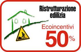 Riqualificazione energetica – Ecoincentivi 50% sconto fiscale del 50%