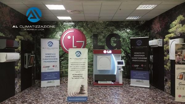 Auchan concesio gamma climatizzatori LG