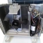 unità esterna sezionata di un climatizzatore