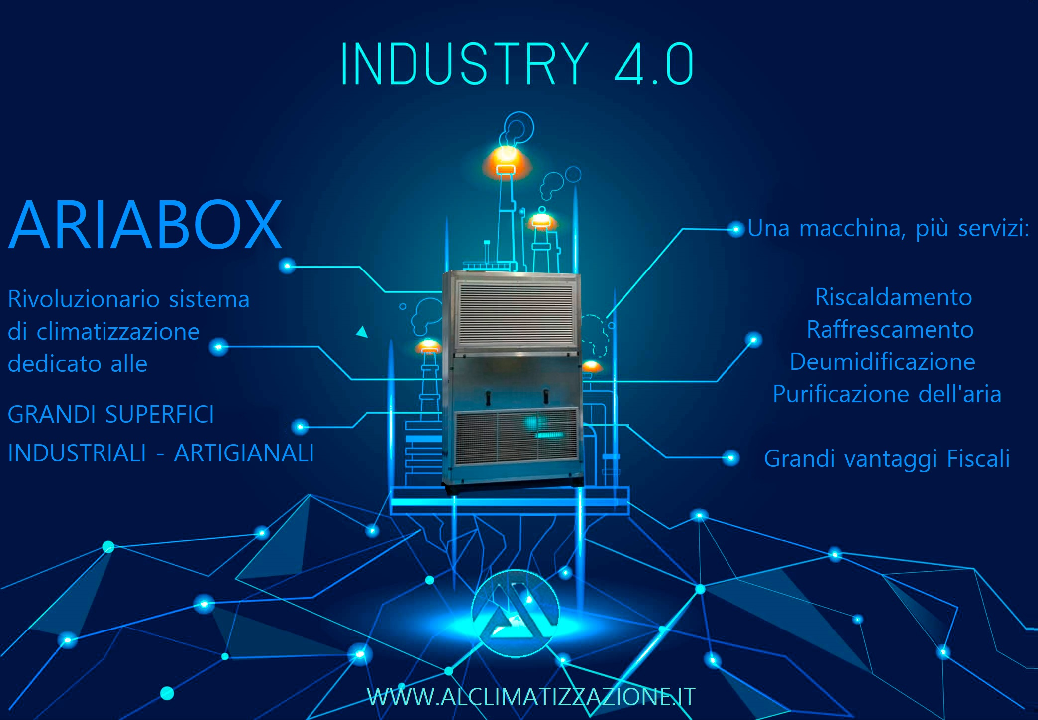 Climatizzatori industriali ARIABOX