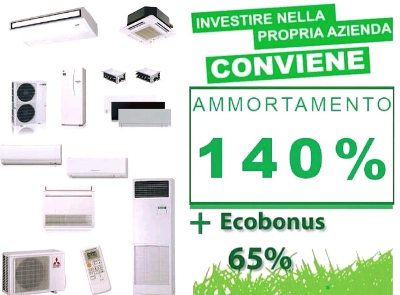 ammortamento 140% , super ammortamento, Ecobonus 65%