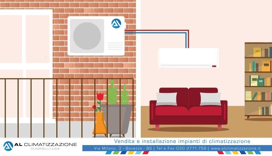 Installazione, montaggio, assistenza, climatizzatori Brescia - Provincia