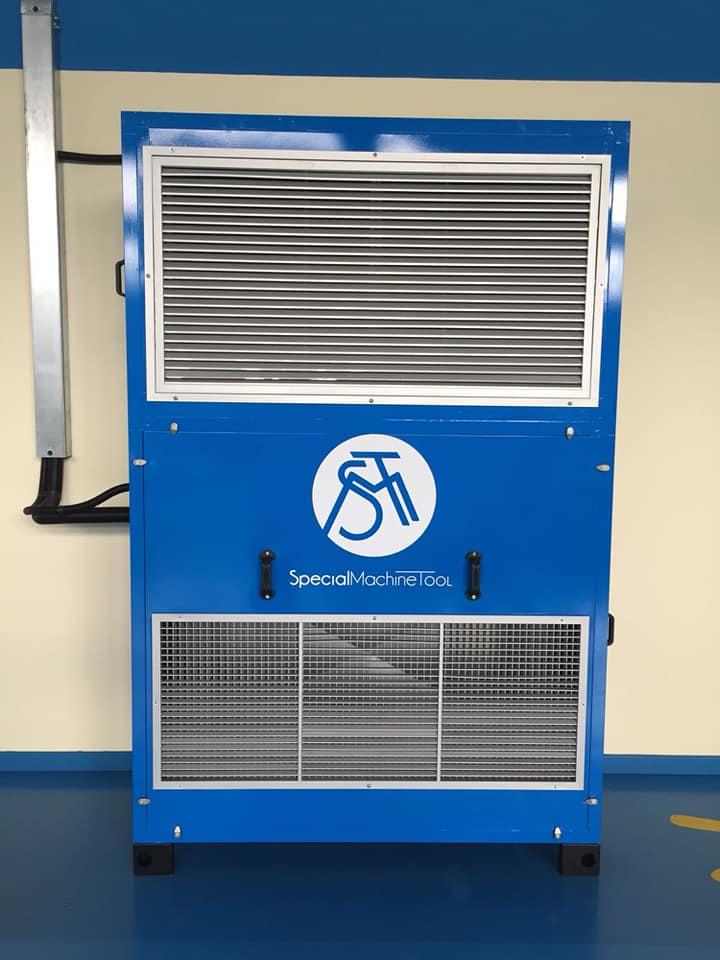 Riscaldamento e condizionamento industriale