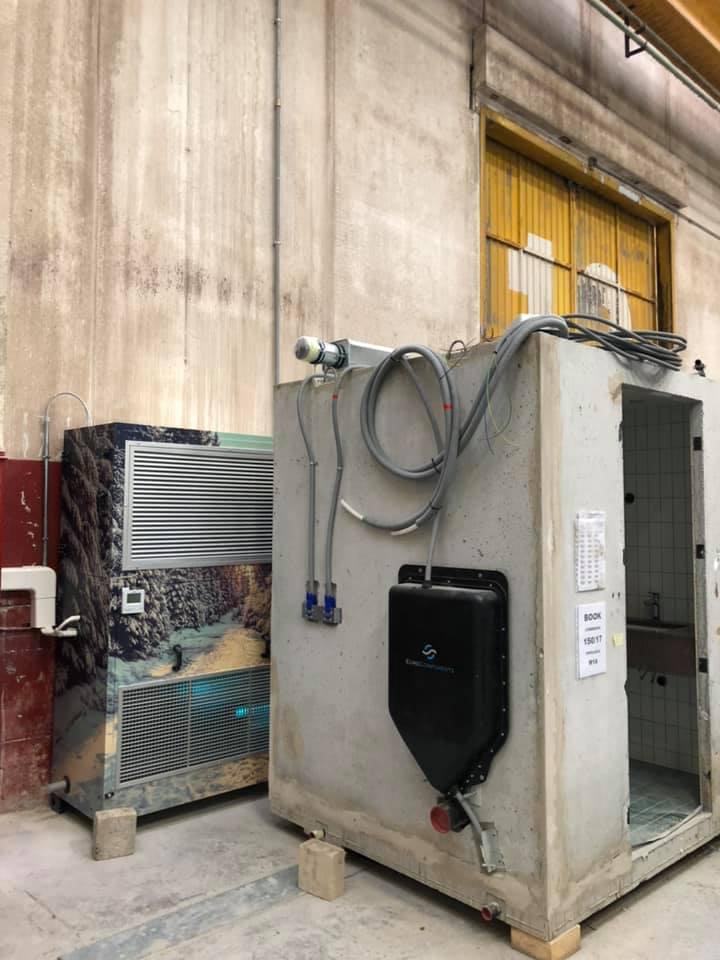 climatizzatore industriale
