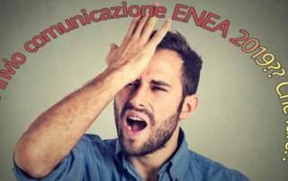 Mancato invio comunicazione ENEA 2019