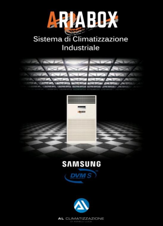 Ariabox climatizzatore industriale