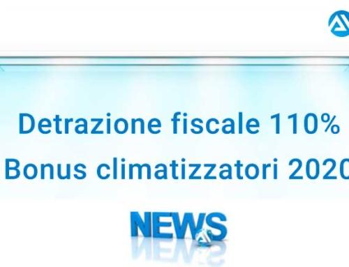 Detrazione fiscale 110% Bonus climatizzatori 2020